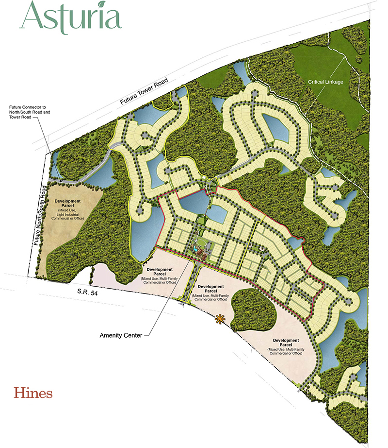 Trinity Florida Master Plan Community