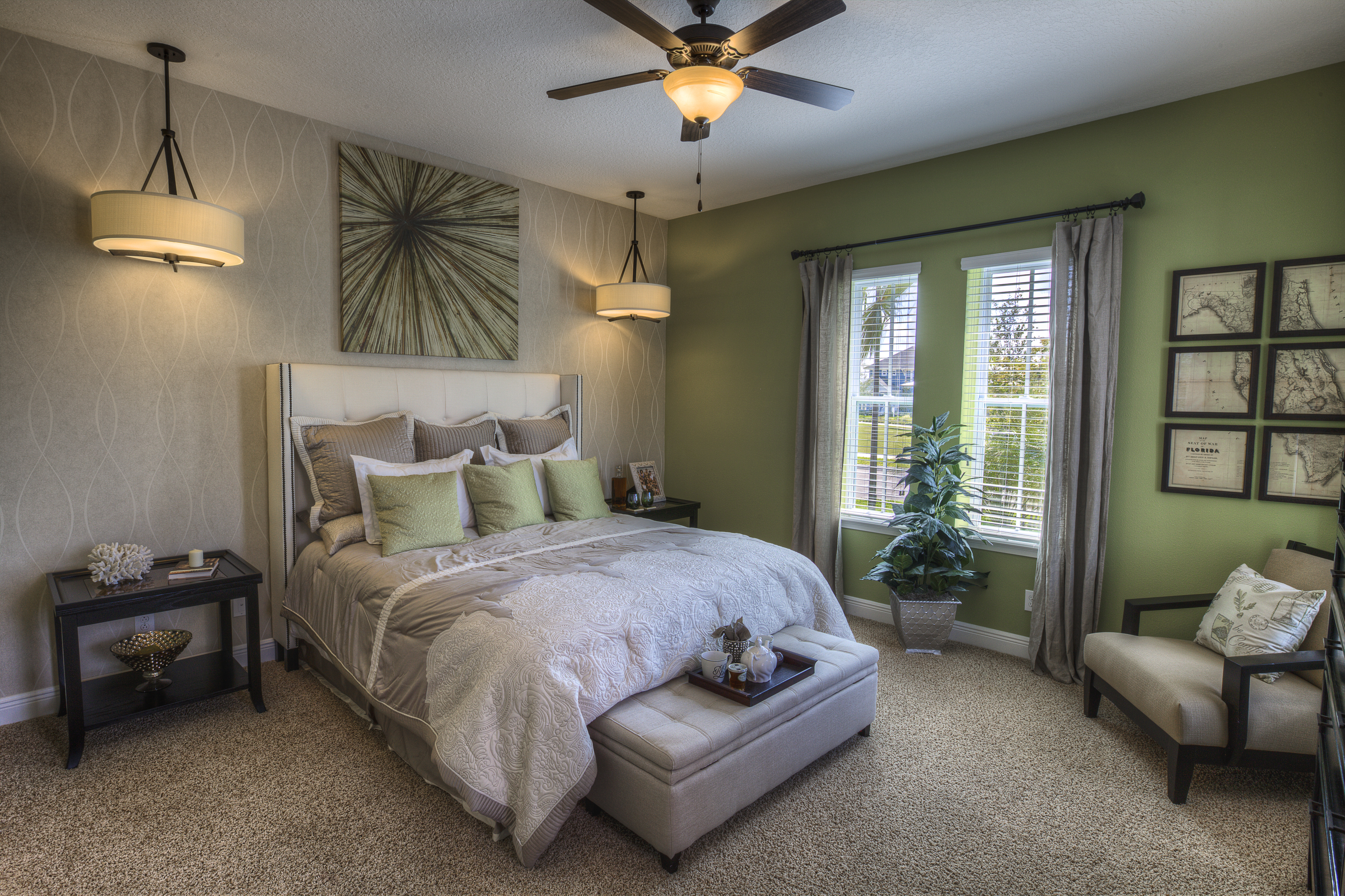 Ashton Woods Anderson Master Bedroom Asturia Florida
