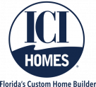 New ICI Logo w Florida Custom Home Builder - Round