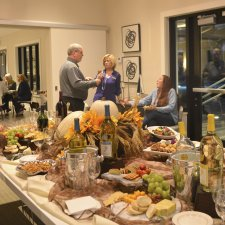 Asturia's Wine and Cheese social, Exclusively for Realtors in Odessa, FL