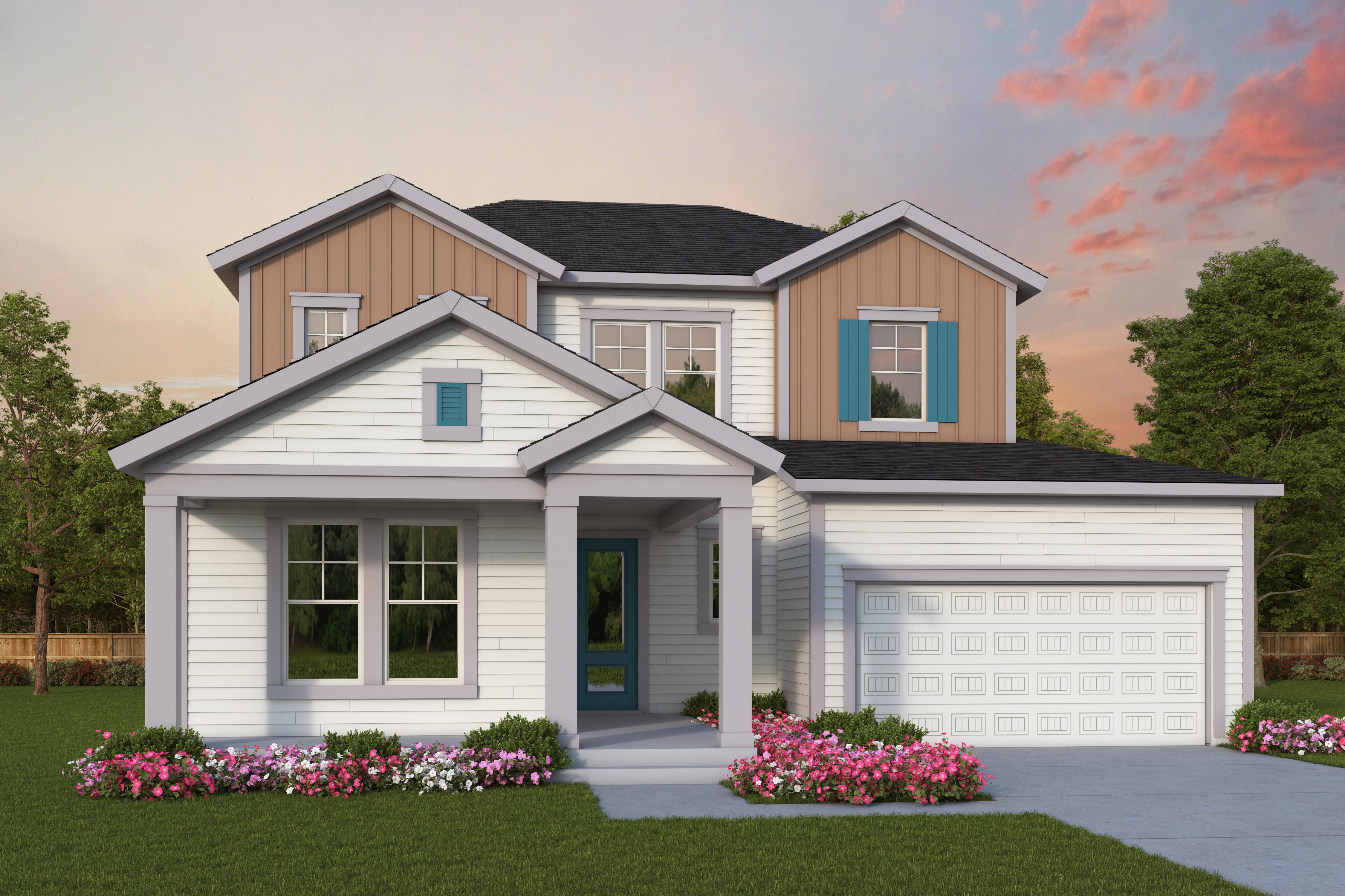 New David Weekley Homes Model